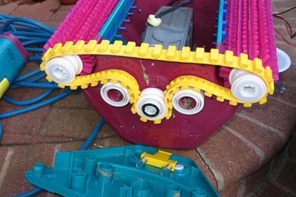 Réparation robot piscine toulon